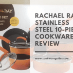 Rachael Ray 11480 Brights Nonstick Cookware Pots and Pans Set, 10 Piece, Orange Gradient Review