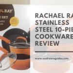 Rachael Ray 11480 Brights Nonstick Cookware Pots and Pans Set, 10 Piece, Orange Gradient Review