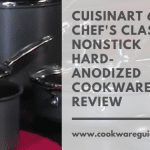 Cuisinart 66-11 Chef's Classic Nonstick Hard-Anodized Cookware Set Review